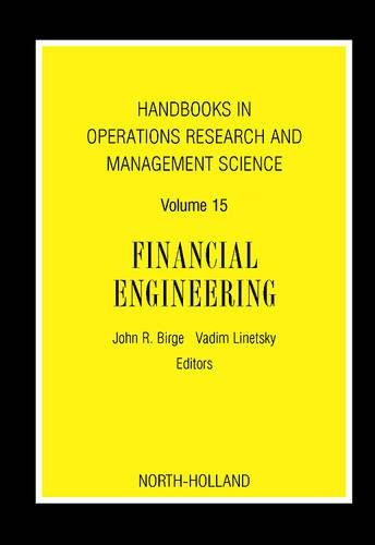 9780444517814: Financial Engineering (Handbooks in Operations Research and Management Science)