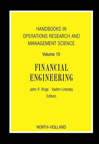 9780444517814: Financial Engineering