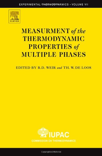 9780444519771: Measurement of the Thermodynamic Properties of Multiple Phases, Volume 7 (Experimental Thermodynamics)