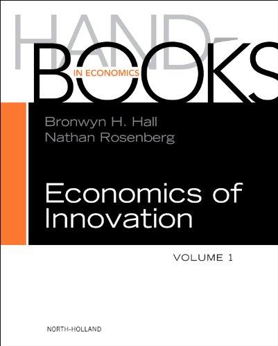 9780444519955: Handbook of the Economics of Innovation: 1
