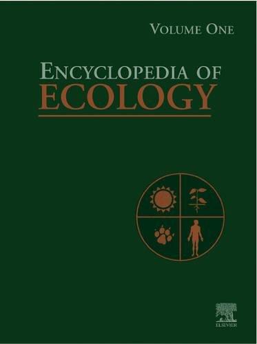 Encyclopedia of Ecology: Volume 1-5 (Hardback)