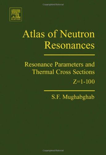 9780444520357: Atlas of Neutron Resonances: Resonance Parameters And Thermal Cross Sections Z=1-100