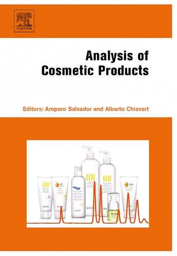 Analysis of Cosmetic Products: Amparo Salvador (Editor),