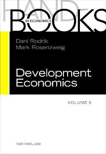 9780444529442: Handbook of Development Economics: Volume 5