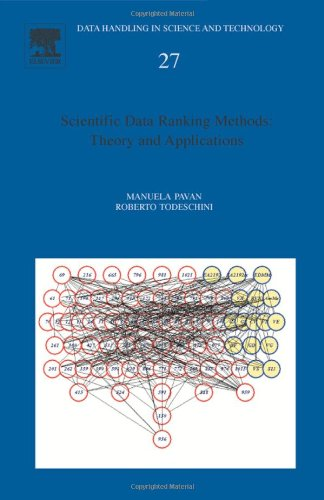 9780444530202: Scientific Data Ranking Methods: Theory and Applications