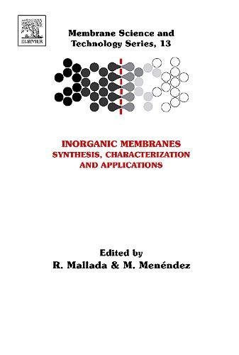 9780444530707: Inorganic Membranes: Synthesis, Characterization and Applications, Volume 13 (Membrane Science and Technology)