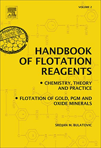 9780444530820: Handbook of Flotation Reagents: Chemistry, Theory and Practice: Volume 2: Flotation of Gold, PGM and Oxide Minerals
