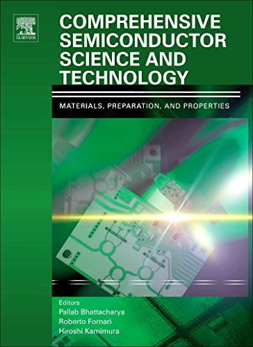 Comprehensive Semiconductor Science and Technology, Six-Volume Set: Pallab K. Bhattacharya