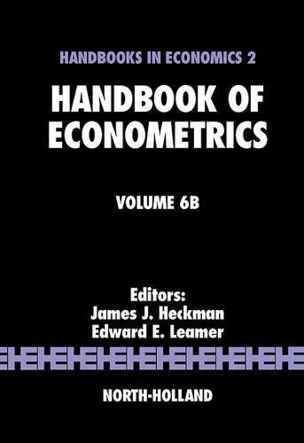 9780444532008: Handbook of Econometrics, Volume 6B: Vol. 6B