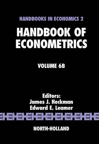 9780444532008: Handbook of Econometrics: Volume 6B: Vol. 6B