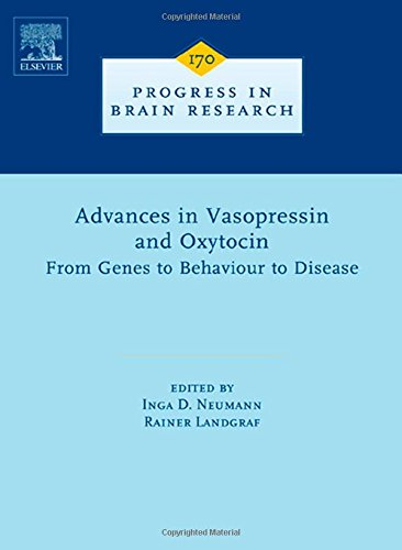 9780444532015: Advances in Vasopressin and Oxytocin - From Genes to Behaviour to Disease