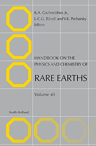 Handbook on the Physics and Chemistry of Rare Earths: Gschneidner Jr., Karl