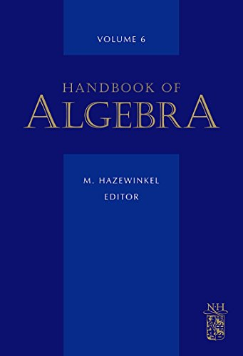 9780444532572: Handbook of Algebra