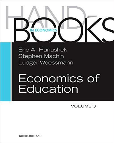 9780444534293: Handbook of the Economics of Education, Volume 3 (Handbooks in Economics (North-Holland))