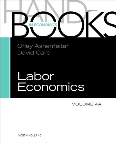 9780444534507: Handbook of Labor Economics, Volume 4a