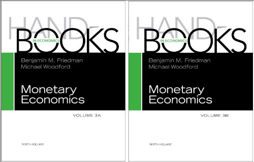 9780444534705: Handbook of Monetary Economics vols 3A+3B Set (Handbooks in Economics)