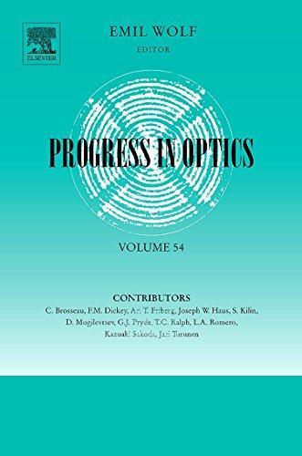 9780444535283: Progress in Optics, Volume 54