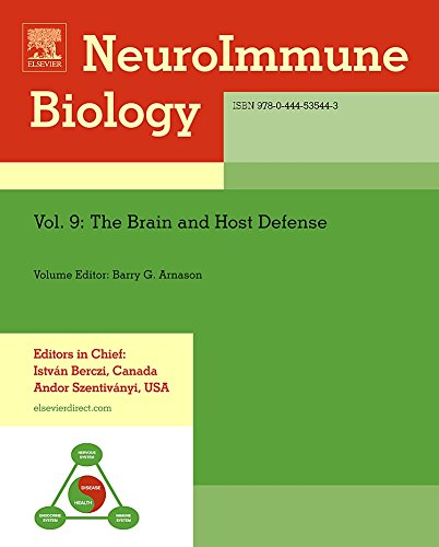 The Brain and Host Defense, Volume 9: Editor-Barry G. W.