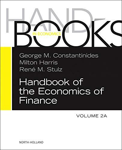 9780444535948: Handbook of the Economics of Finance, Volume 2A: Corporate Finance