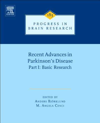 9780444536143: Recent Advances in Parkinsons Disease, Volume 183: Part I: Basic Research (Progress in Brain Research)