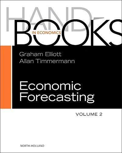 9780444536839: Handbook of Economic Forecasting, Volume 2A
