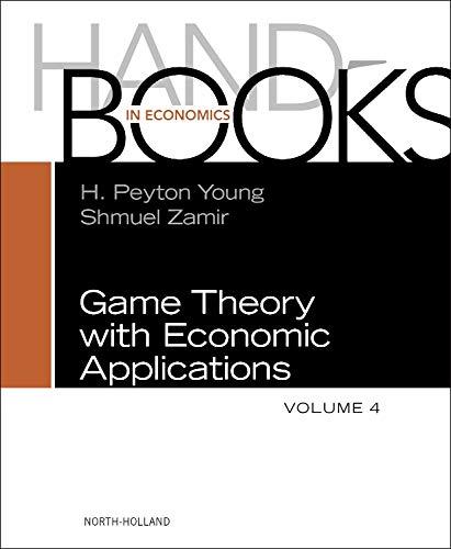 9780444537669: Handbook of Game Theory, Volume 4 (Handbooks in Economics)