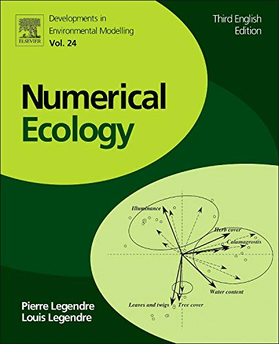 9780444538680: Numerical Ecology, Volume 24, Third Edition (Developments in Environmental Modelling)