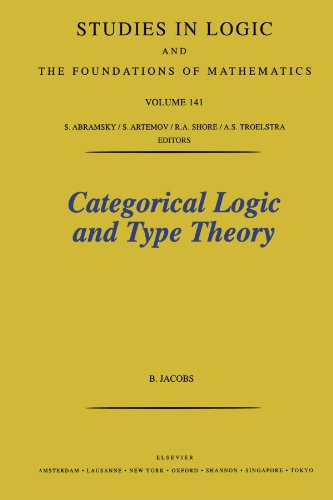 9780444539427: Categorical Logic and Type Theory