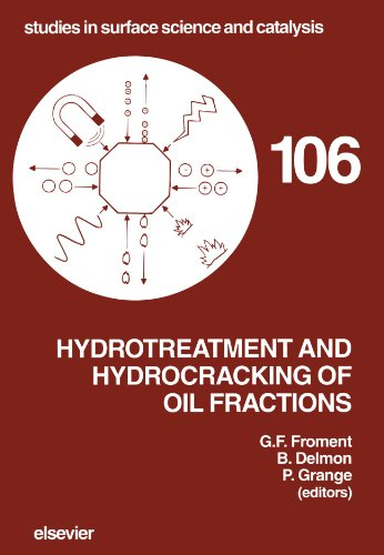 9780444541192: Hydrotreatment and Hydrocracking of Oil Fractions