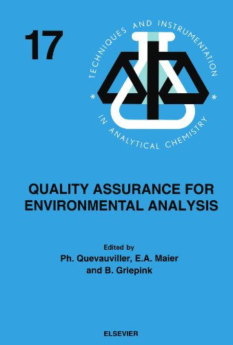 9780444541642: Quality Assurance for Environmental Analysis: Method Evaluation within the Measurements and Testing Programme (BCR)