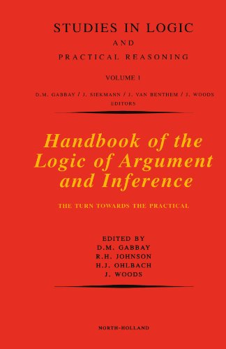 9780444542182: Handbook of the Logic of Argument and Inference: The Turn Towards the Practical