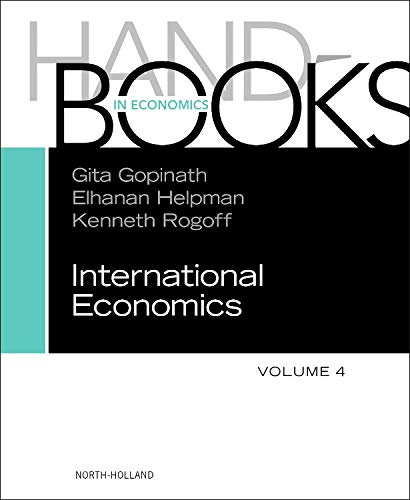 9780444543141: Handbook of International Economics, Volume 4