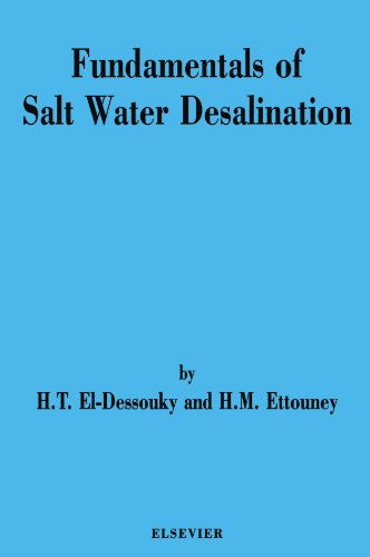 9780444543424: Fundamentals of Salt Water Desalination