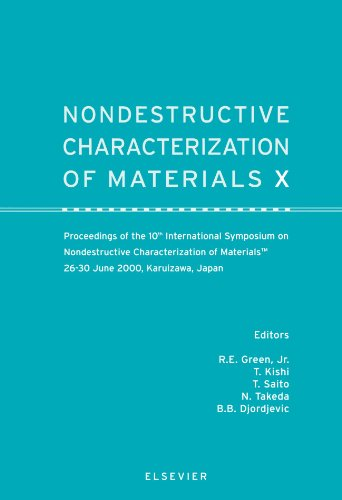 9780444543493: Nondestructive Characterization of Materials X