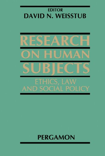 9780444544384: Research on Human Subjects: Ethics, Law and Social Policy