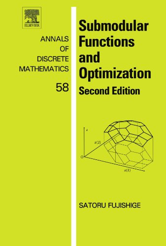9780444545985: Submodular Functions and Optimization: Second Edition
