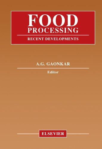 9780444546098: Food Processing: Recent Developments