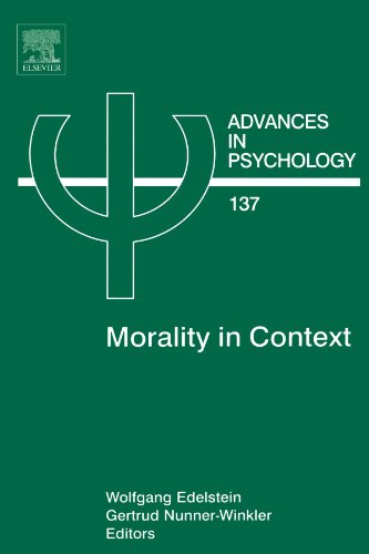 9780444546852: Morality in Context