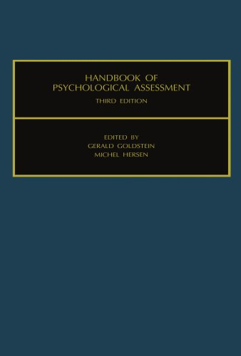 9780444547118: Handbook of Psychological Assessment: Third Edition