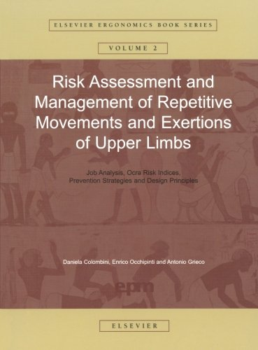 9780444549150: Risk Assessment and Management of Repetitive Movements and Exertions of Upper Limbs: 2