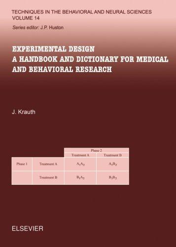 9780444549785: Experimental Design