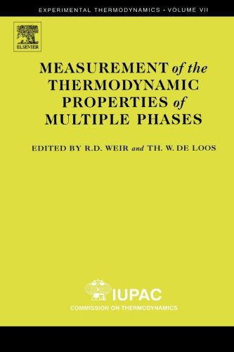 9780444550552: Measurement of the Thermodynamic Properties of Multiple Phases (Volume 7)
