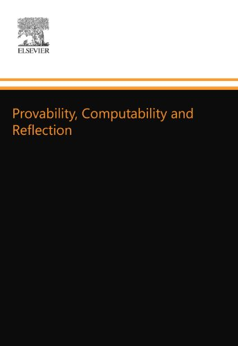 9780444554505: Provability, Computability and Reflection