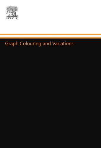 9780444557131: Graph Colouring and Variations
