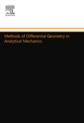 9780444558275: Methods of Differential Geometry in Analytical Mechanics