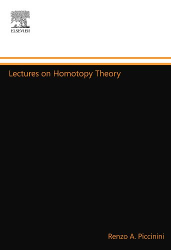 9780444558503: Lectures on Homotopy Theory