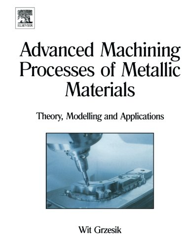 9780444559203: Advanced Machining Processes of Metallic Materials: Theory, Modelling and Applications