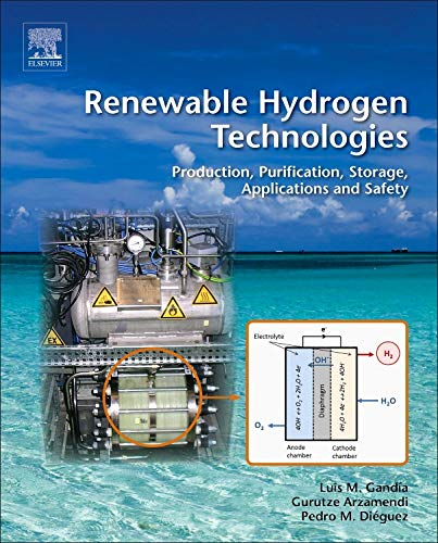 9780444563521: Renewable Hydrogen Technologies: Production, Purification, Storage, Applications and Safety