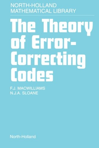 9780444564016: The Theory Of Error-Correcting Codes