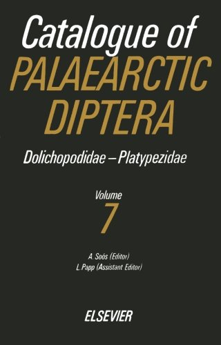 9780444566478: Catalogue of Palaearctic Diptera, Volume 7: Dolichopodidae-Platypezidae
